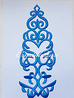 Термо аппликация 29.5*11.5 см 1шт Blue