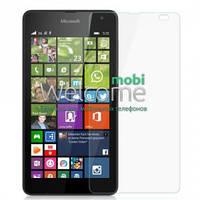 Защитное стекло Microsoft 535 Lumia (0.3 мм, 2.5D, с олеофобным покрытием) Люмия