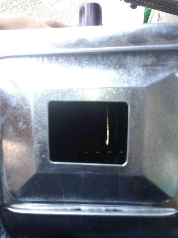 Шубомет ручной со съемным окном
