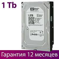 "Жесткий диск для компьютера 3.5"" 1 Тб/Tb Western Digital, SATA3, 64Mb, 5400 rpm (WD10EZRX), винчестер hdd"