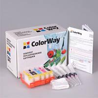 КПК для Canon IP4840, MG5140 ColorWay, с чипами, чернила