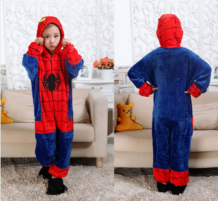 Кигуруми, пижама - Человек Паук!