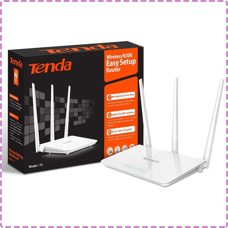 Wi-Fi роутер TENDA F3, вай фай маршрутизатор тенда ф3
