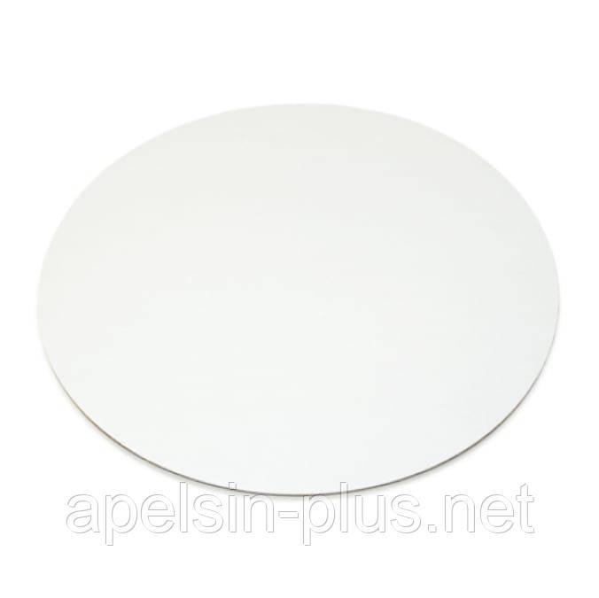 Підкладка-піднос посилена ламінована біла 36 см 0,4 см