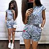 Костюм шорты с карманами+топ, размеры S. M, фото 2