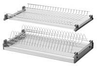 Сушка для посуди L= 800 хром з рамкою