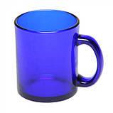 Чашка из стекла глянцевая Фрост 300 мл, розница + опт \ es - 883001, фото 2