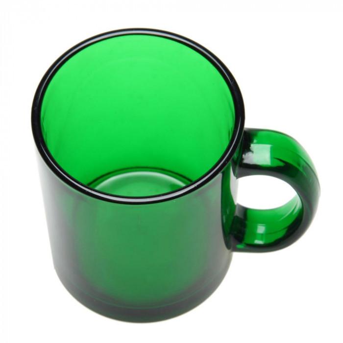Чашка из стекла глянцевая Фрост 300 мл, розница + опт \ es - 883001