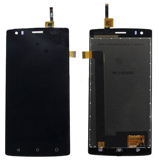 Модуль FLY FS506 Cirrus 3 black (оригинал) дисплей экран, сенсор тач скрин Флай