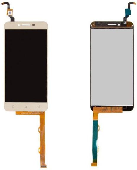 Модуль Lenovo Vibe K5 Plus Lemon 3 gold (оригинал) дисплей экран, сенсор тач скрин Леново