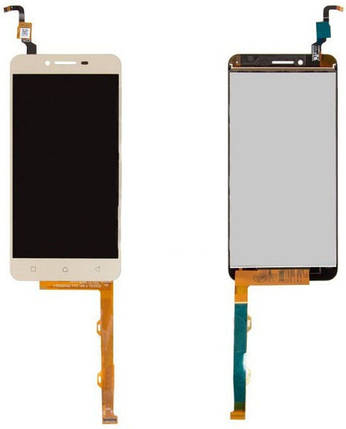 Модуль Lenovo Vibe K5 Plus Lemon 3 gold (оригинал) дисплей экран, сенсор тач скрин Леново, фото 2