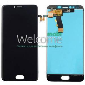 Модуль Meizu M5s black (оригинал) дисплей экран, сенсор тач скрин Мейзу, фото 2