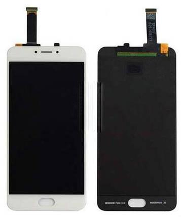 Модуль Meizu MX6 white дисплей экран, сенсор тач скрин Мейзу МХ6, фото 2