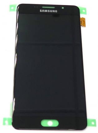Модуль Samsung SM-A510F Galaxy A5 (2016) black (оригинал) дисплей экран, сенсор тач скрин Самсунг А5, фото 2