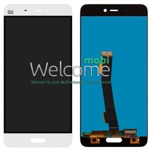 Модуль Xiaomi Mi 5s white (оригинал) дисплей экран, сенсор тач скрин Сяоми Ксиоми