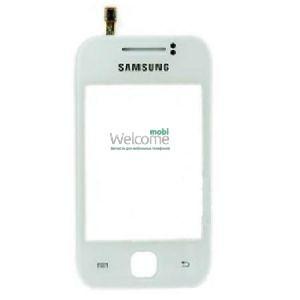 Сенсор Samsung S5360 GALAXY Y white (оригинал), тач скрин Самсунг