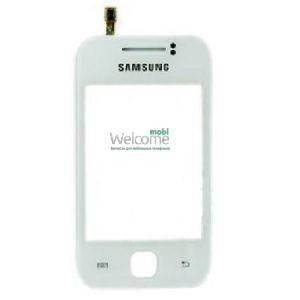 Сенсор Samsung S5360 GALAXY Y white (оригинал), тач скрин Самсунг, фото 2