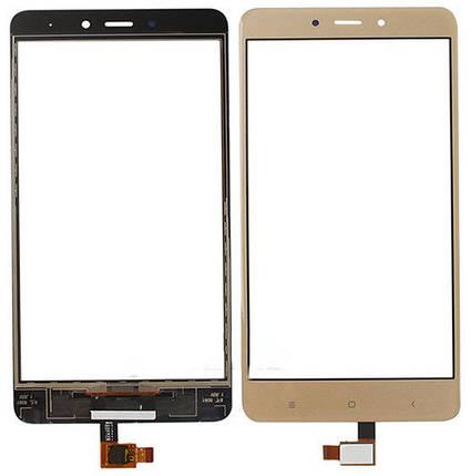 Сенсор Xiaomi Redmi Note 4 gold, тач скрин Сяоми Ксиоми Редми Нот 4, фото 2