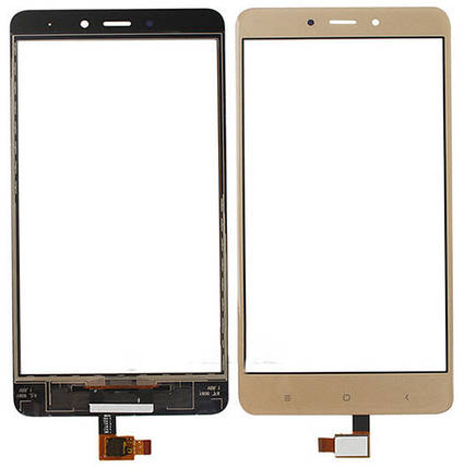 Сенсор Xiaomi Redmi Note 4 gold (оригинал), тач скрин Сяоми Ксиоми Редми Нот 4, фото 2