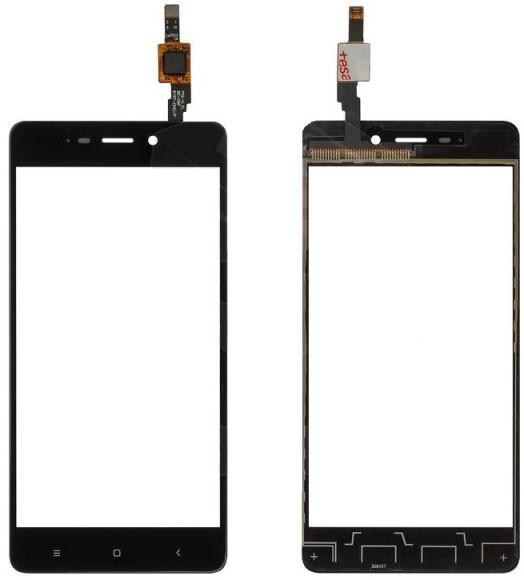 Сенсор Xiaomi Redmi 4 black (оригинал), тач скрин Сяоми Ксиоми Редми 4