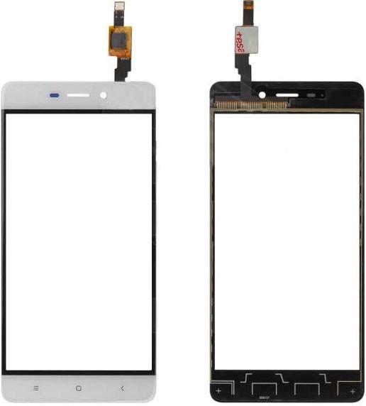 Сенсор Xiaomi Redmi 4 white, тач скрин Сяоми Ксиоми Редми 4