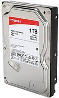 "Жесткий диск для компьютера 3.5"" 1 Тб/Tb Toshiba P300, SATA3, 64Mb, 7200 rpm (HDWD110UZSVA), винчестер hdd"