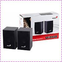Колонки для компьютера 2.0 Genius SP-HF160 USB Black, акустика, акустическая система