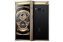 Раскладной смартфон Tkexun W2018 gold