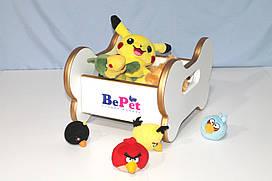 Ящик для хранения игрушек собаки BePet Gold