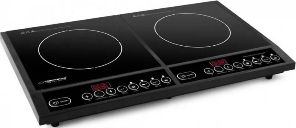 Электроплита индукционная Esperanza EKH008, настольная кухонная плита электрическая, електроплита, фото 2