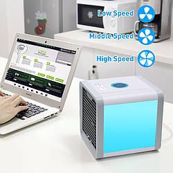 Мобильный мини кондиционер Arctic Air Cooler с LED-подсветкой 4 в 1 (очиститель, увлажнитель воздуха)