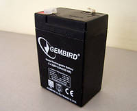 Аккумулятор для ИБП 6В 4,5Ач EnerGenie / BAT-6V4.5AH / ШхДхВ 44x69x100