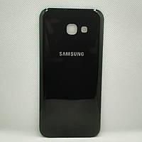 Задняя крышка Samsung A520 Galaxy A5 (2017) black (оригинал), сменная панель самсунг а5