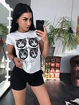 Костюм летний футболка + шорты, размеры s m l xl Турция, фото 3