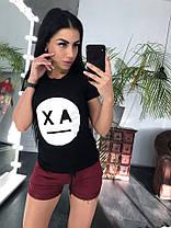 Костюм женский футболка + шорты, размеры s m l xl Турция, фото 3