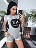 Костюм женский футболка + шорты, размеры s m l xl Турция, фото 6