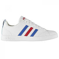 Кроссовки adidas Advantage Leather Wht/Blue/Red,  (10089864)