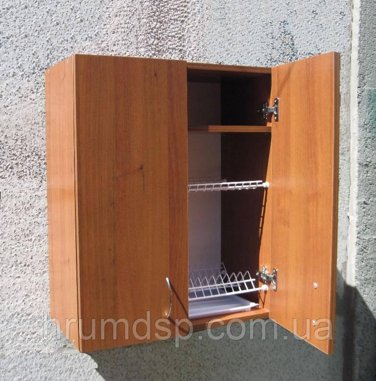 Сушка для посуды 60х72х30см в шкафу с полочкой