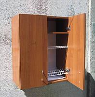 Сушка для посуды 60х72х30см в шкафу с полочкой, фото 1