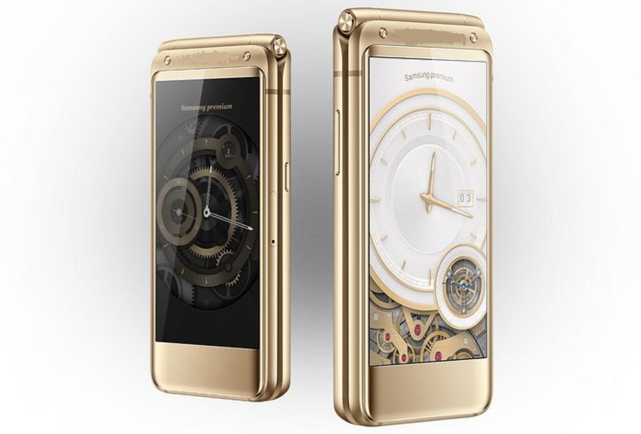 Раскладной смартфон tkexun W2017 gold