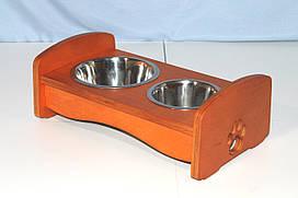 Подставка под миски для собак и кошек BePet-Сосна