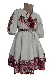 Дитяче плаття Вишиванка з фатіновим подьюпником р. 98 - 146