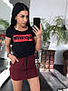 Костюм футболка + юбка, размеры s m l xl Турция, фото 4