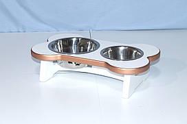 Подставка под миски для собак BePet-Gold