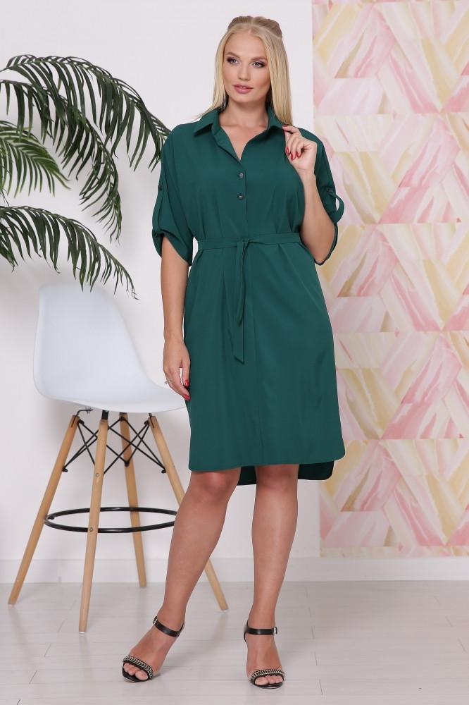 Платье рубашка с 48 по 58 размер