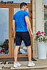 Чоловічий молодіжний літній спортивний костюм: шорти та футболка, репліка Tommy Hilfiger, фото 8