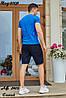 Мужской молодежный летний спортивный костюм: шорты и футболка, реплика Tommy Hilfiger, фото 4