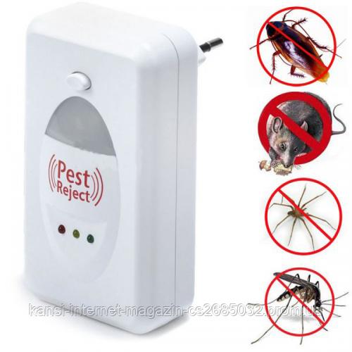 Отпугиватель грызунов и насекомых электромагнитный Pest Reject