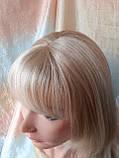 Парик длинный прямой жемчужный блонд с пробором FANLAN-24BT613N, фото 2