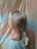 Парик длинный прямой жемчужный блонд с пробором FANLAN-24BT613N, фото 5